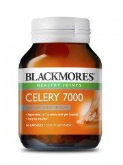 Blackmores Celery 7000, Joint Pain Relief, 60 Capsules