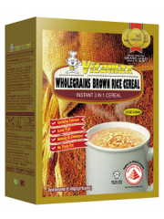 Vitamax Wholegrain Brown Rice Cereal, 2 bxs (30gx16 sachets)