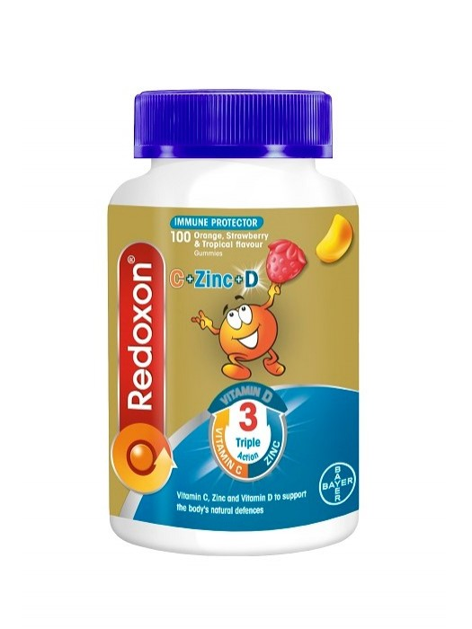 Redoxon Kids Triple Action Gummies, 100s, Pack of 2