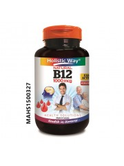 Holistic Way Vitamin B12 1000mcg, 90 Tabs, Pack of 2