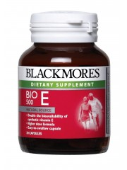 Blackmores Bio E 500, 30 Caps, Pack of 3