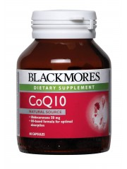 Blackmores CoQ10 50mg, 60 caps, Pack of 2