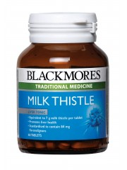 Blackmores Milk Thistle, Aids Liver Detoxification, 60 Tablets