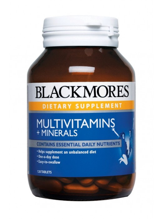 Blackmores Multivitamins + Minerals, 120 tabs, Pack of 2