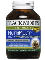 Blackmores, NutriMulti™ Multi+Wholefood Nutrients, For more complete ...