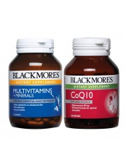 Energy and Stamina: Blackmores Multivitamin-Mineral & Co Q10