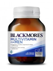Blackmores Multivitamins for Men, 50 tabs, Pack of 2