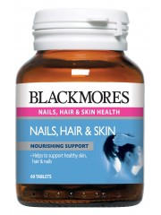 Blackmores Nails Hair & Skin, 60 tabs, Pack of 3