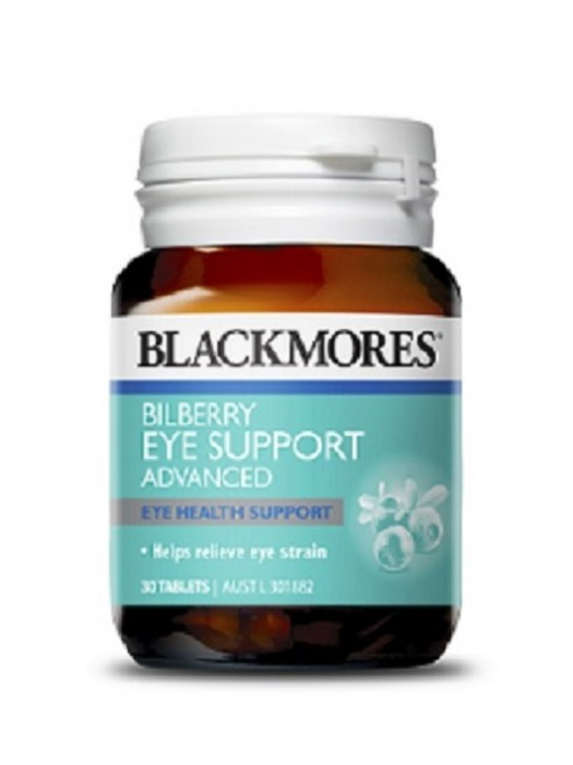 Blackmores Bilberry Eye Support, 30 tabs