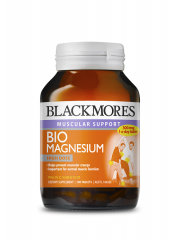 Blackmores Bio Magnesium, Relieves Muscle Cramps, 100 Tablets
