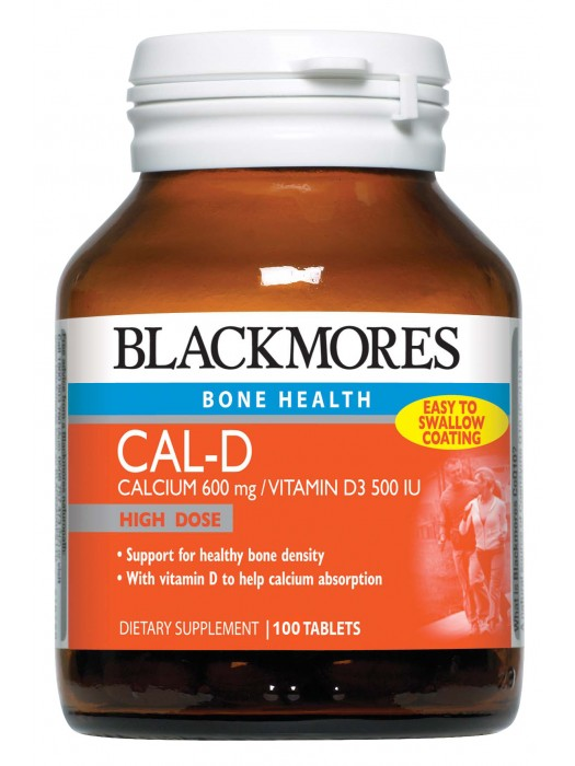 Blackmores Cal-D, 100 tabs, Pack of 3