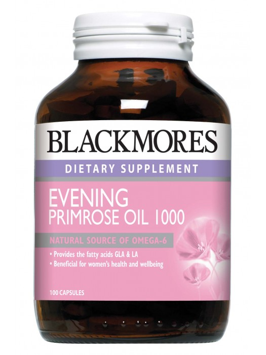 Blackmores Evening Primrose Oil 1000mg, 100 Capsules