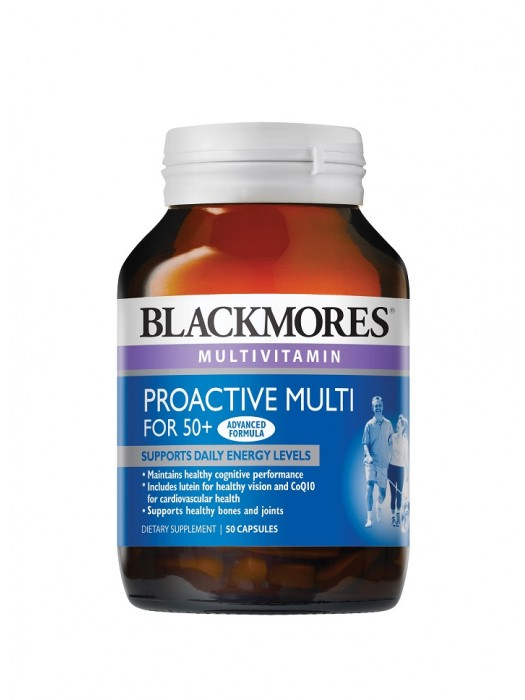 Blackmores Proactive Multi for 50+, 50 capsules