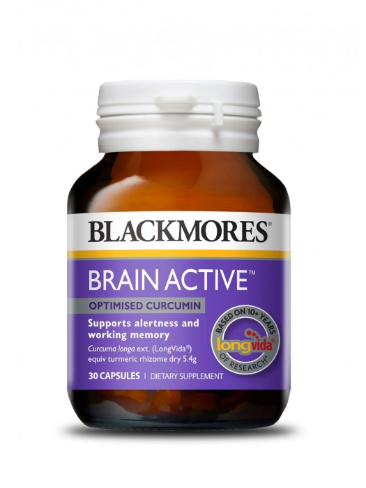 Blackmores Brain Active, 30 caps