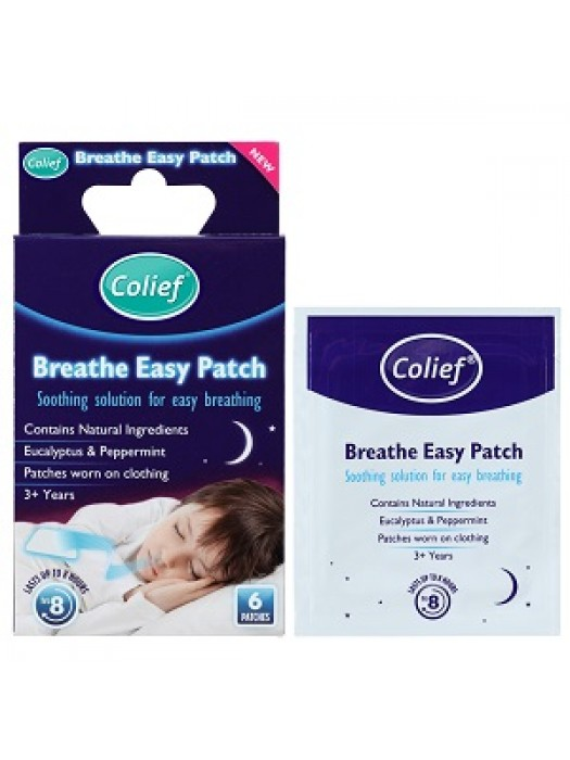 Colief 174 Breathe Easy Patch 6s Pack Of 3