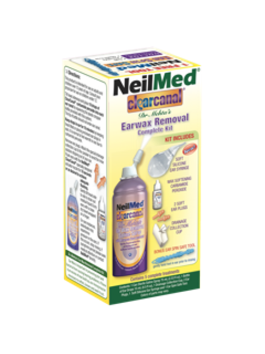 NeilMed® clearcanal Earwax Removal Complete Kit