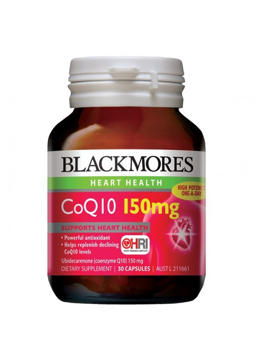 Blackmores CoQ10 150mg, 30 caps