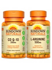 Healthy Heart: Sundown Naturals CoQ10 & L-Arginine