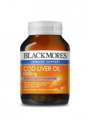 Blackmores Cod Liver Oil 1000mg, 80 caps
