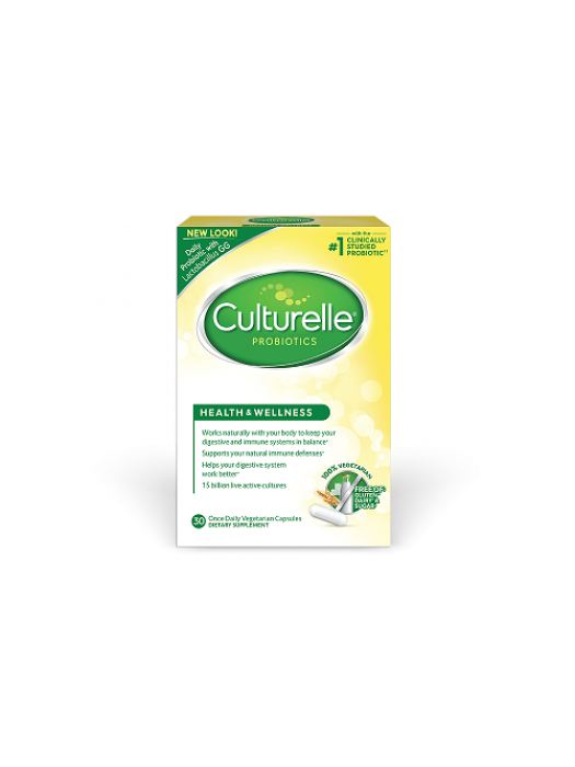Culturelle, Probiotics, Health & Wellness, 30 Veg caps
