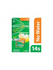 Berocca Performance Vitamin B Fizzy Melts Energy Tablet, 14s, Pack of  ...