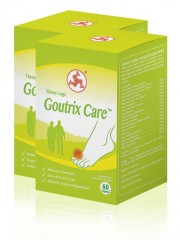 Three Legs Goutrix Care, 60 VegiCaps (Twin Pack)