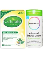 Healthy Digestion Pack: Culturelle Probiotics & Rainbow Light Adva ...