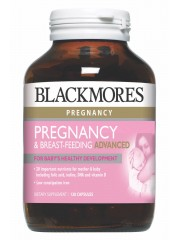 Blackmores Pregnancy & Breast-Feeding Advanced, 120 Capsules