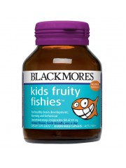 Blackmores Kids Fruity Fishies, 30 Burstable caps, Pack of 3