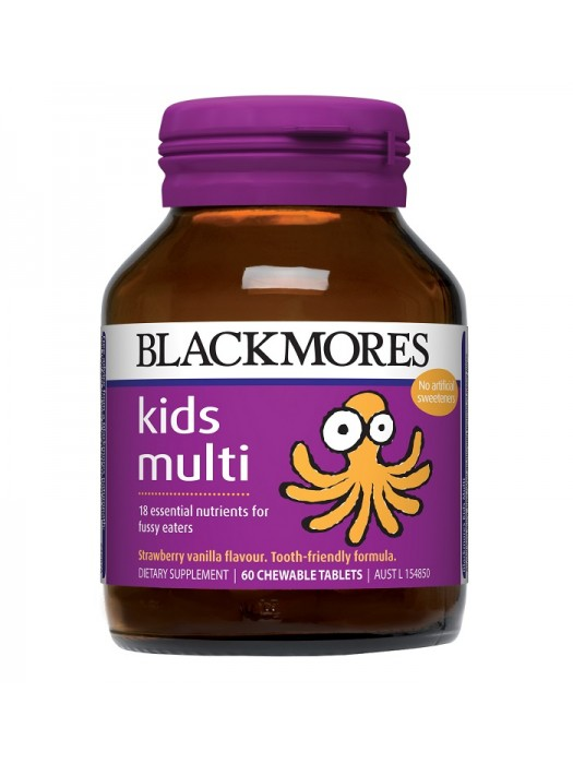 Blackmores Kids Multi, 60 Chewable Tablets