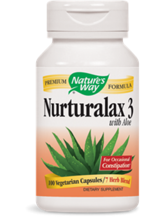 Nature's Way Nurturalax™ 3 with Aloe, 100 Vcaps