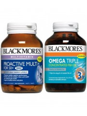 Wellbeing: Blackmores ProActive Multi+Omega Triple Fish Oill