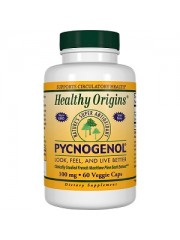 Healthy Origins Pycnogenol 100mg, 60 Veggie Caps