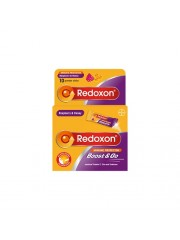 Redoxon Boost & Go Honey/Raspberry, 10 sticks, Pack of 3