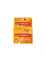 Redoxon Boost & Go Orange/Strawberry, 10 sticks, Pack of 3