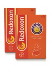 Redoxon Double Action Effervescent, Orange, 2 x 45 Tablets (Twin Pack)