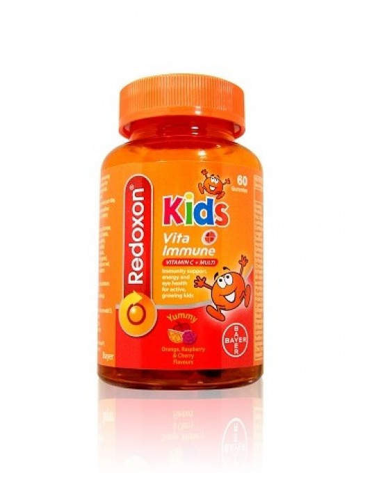 Redoxon Kids Vita Immune Gummies, 60s, Pack of 2
