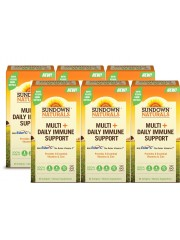 Sundown Naturals Multi+Daily Immune Support, 60 sgls, Pack of 6