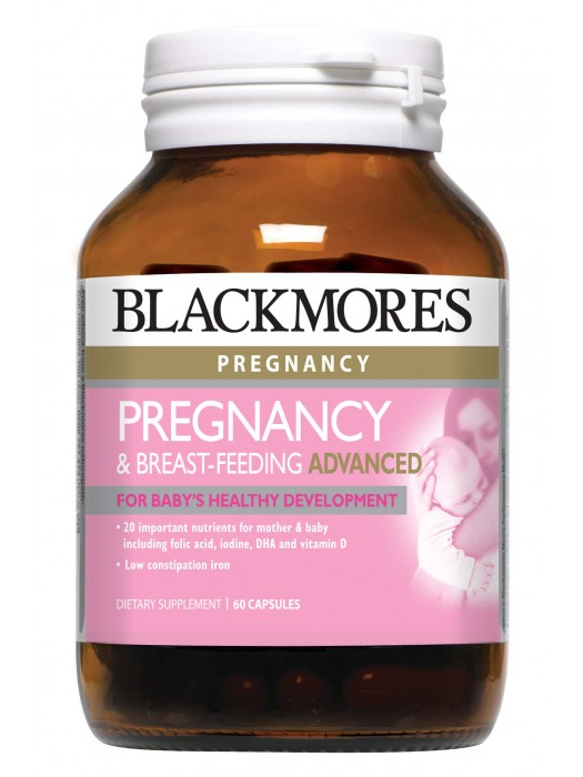 Blackmores Pregnancy & Breast-Feeding Advanced, 60 caps