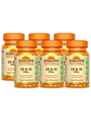 Sundown Naturals CoQ10 200mg, 40 sgls, Pack of 6