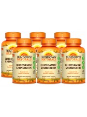 Sundown Naturals Glucosamine Chondroitin, 180 Caplets, Pack of 6