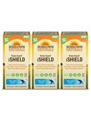 Sundown Naturals Vision Guard® iShield, 60 sgls, Pack of 3