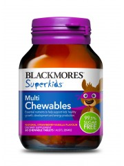 Blackmores Superkids Multi Chewables, 60 tabs