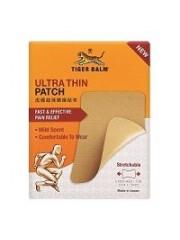 Tiger Balm Ultra-Thin Patch 5s, Pack of 6