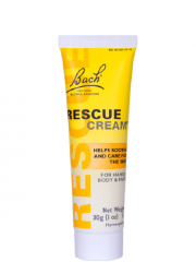 Bach Rescue Remedy Cream 30ml, (2 tubes)