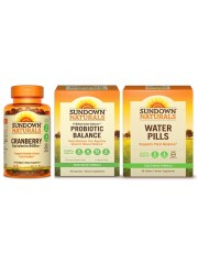 Urinary Health Pack: Sundown Naturals Cranberry, Probiotic Balance &am ...