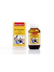 Kordel's B Complex + C, 60 Tablets, Pack of 2