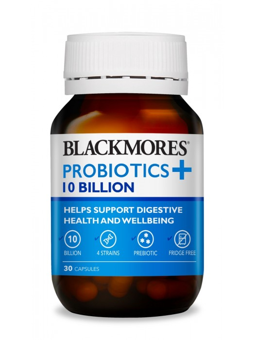 Blackmores Probiotics+ 10 Billion, 30 caps