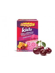 Emergen-C Kidz Vitamin C 250mg, 30 sachets (Fruit Punch)