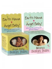 Earth Mama Angel Baby, Angel Baby Bottom Balm + Mama Bottom Balm, 60 m ...